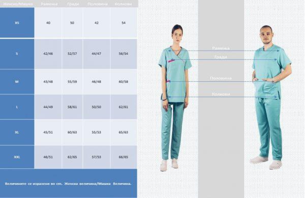 за униформи 2 | 1,400.00ден | medicinskiuniformi.com