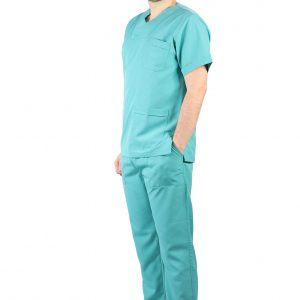 Медицинска Униформа со V отвор